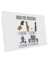 TooLoud Corona Virus Precautions  10 Pack of 6x4 Inch Postcards