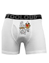 Hot Cocoa and Christmas Movies Boxer Briefs White 3XL Tooloud