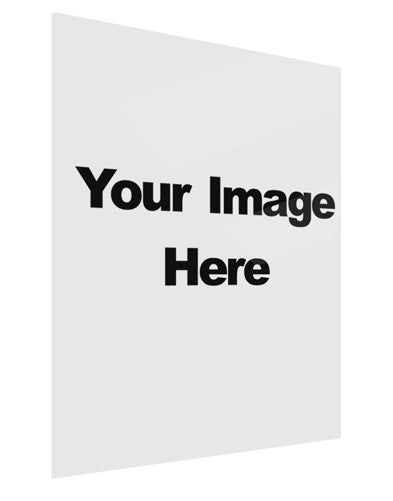 Your Own Image Customized Picture Gloss Poster Print Portrait - Choose Size