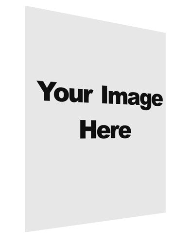 Your Own Image Customized Picture Matte Poster Print Portrait - Choose Size