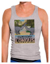 Diplodocus Longus - With Name Mens Ribbed Tank Top