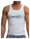 Sweet As Pi Mens Ribbed Tank Top