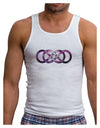 Double Ininifty Galaxy Mens Ribbed Tank Top