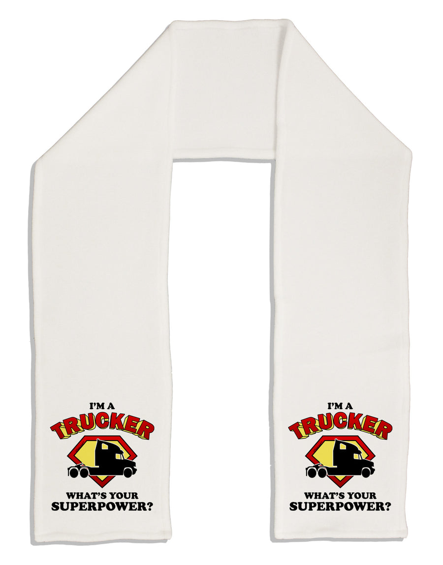 "Trucker - Superpower Adult Fleece 64"" Scarf"
