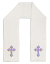 "Easter Color Cross Adult Fleece 64"" Scarf"