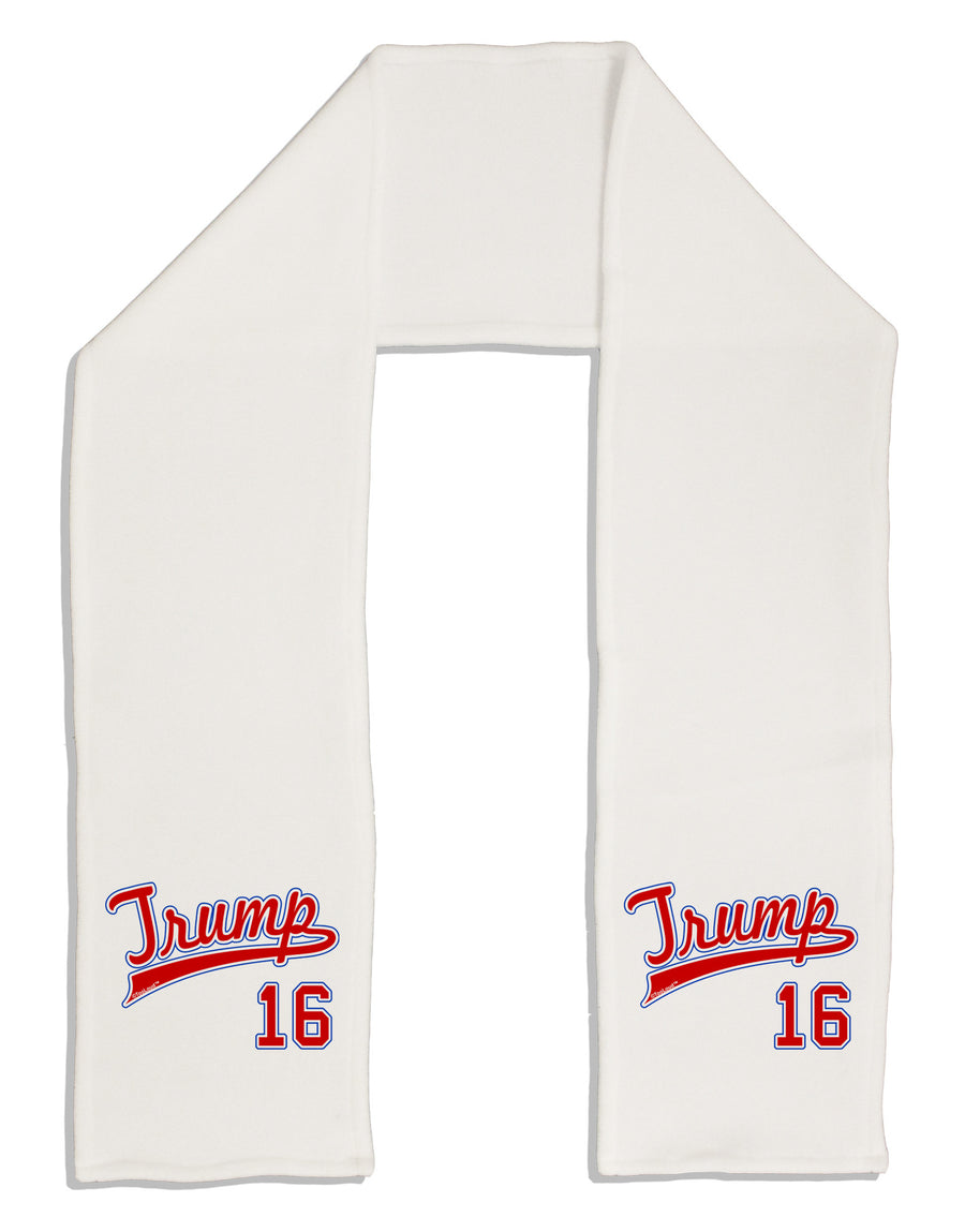 "TooLoud Trump Jersey 16 Adult Fleece 64"" Scarf"