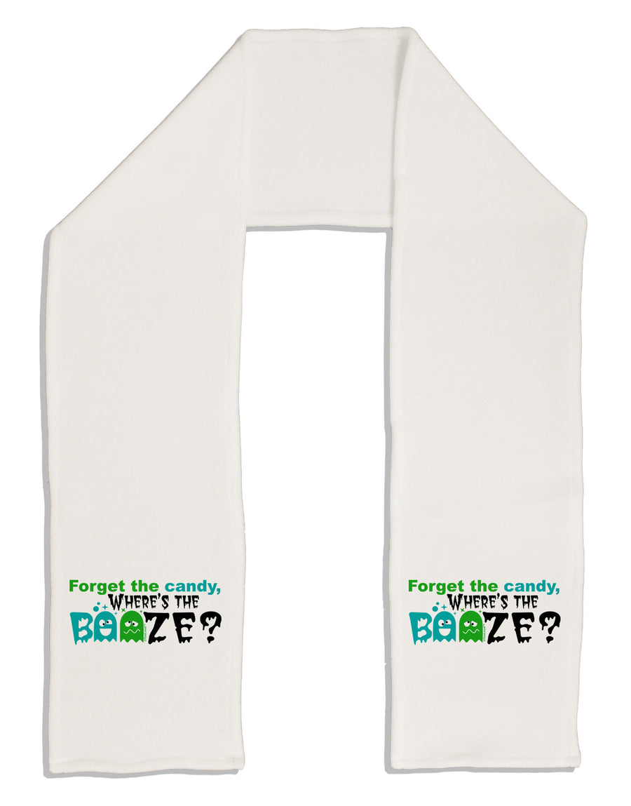 "Where's The Booze Adult Fleece 64"" Scarf"