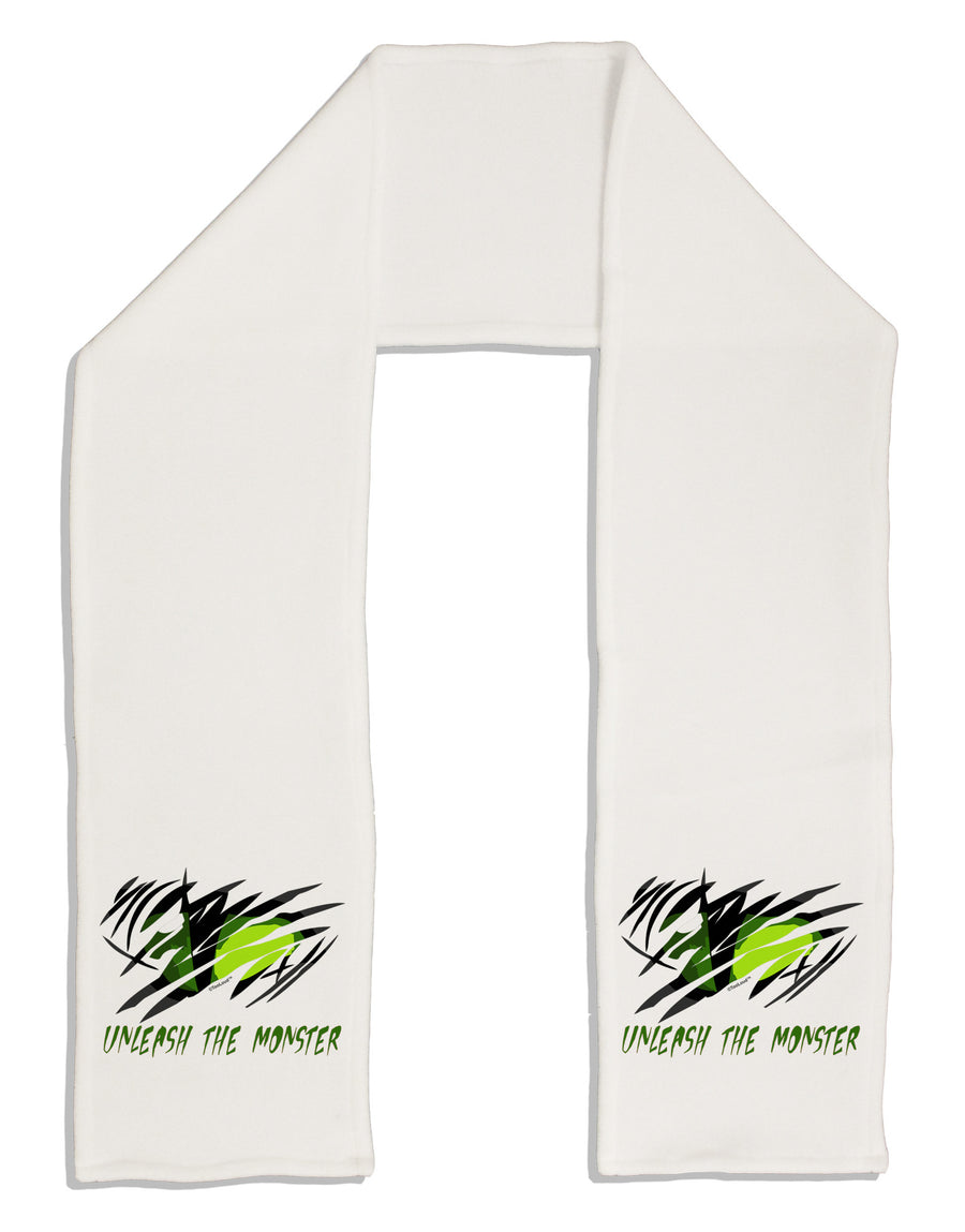 "TooLoud Unleash The Monster Adult Fleece 64"" Scarf"