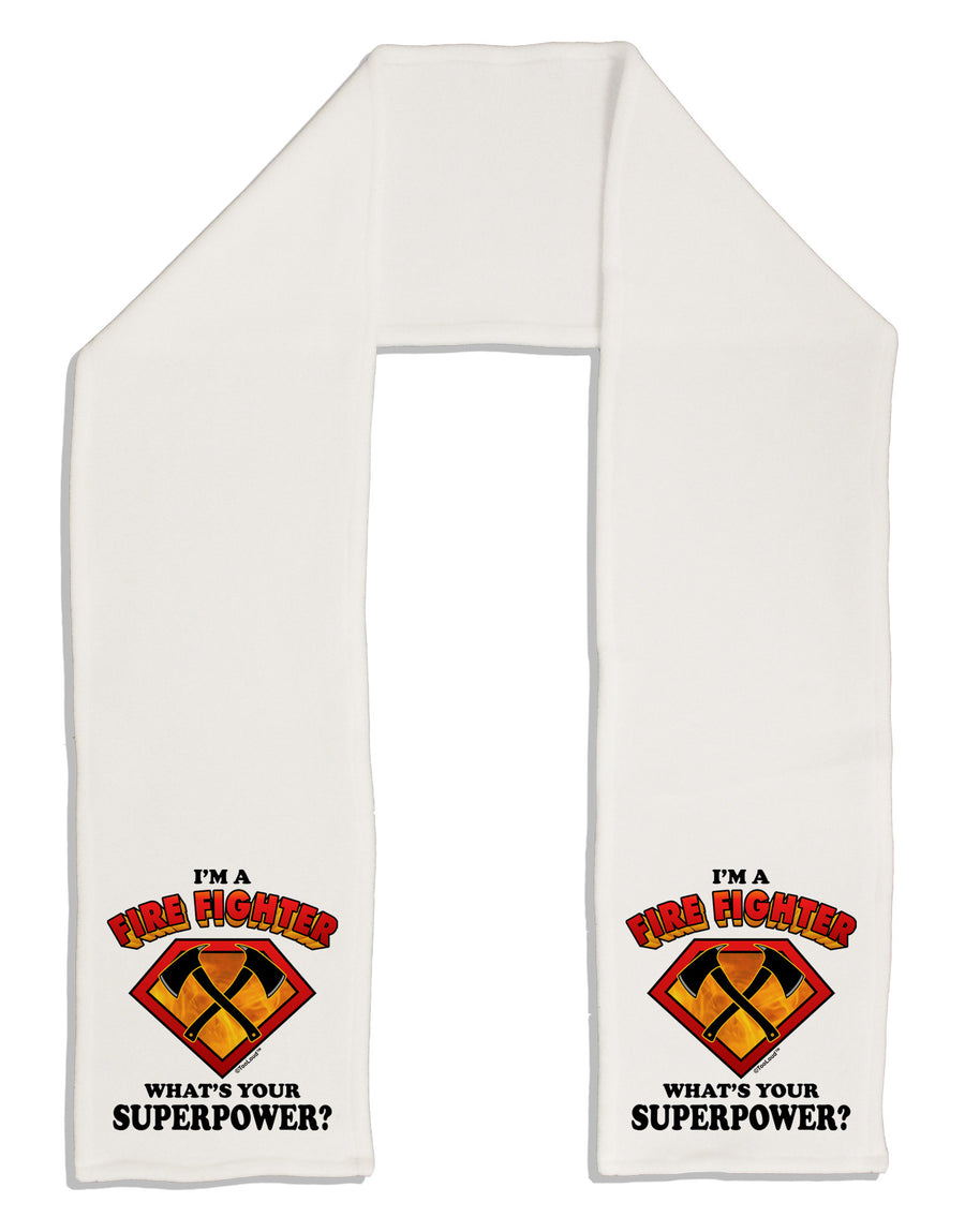 "Fire Fighter - Superpower Adult Fleece 64"" Scarf"