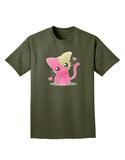 Kawaii Kitty Adult Dark T-Shirt