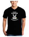 Happy Easter Everybunny Adult Dark V-Neck T-Shirt