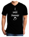 I said Yaaas! Dark Adult Dark V-Neck T-Shirt Black 2XL Tooloud