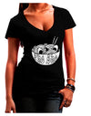 Pho Sho Dark Juniors Petite V-Neck Dark T-Shirt Black 2XL Tooloud