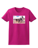 Antique Vehicle Womens Dark T-Shirt