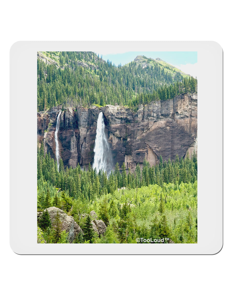 "Beautiful Cliffs Nature 4x4"" Square Sticker by TooLoud"