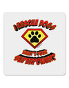 "Rescue Dogs - Superpower 4x4"" Square Sticker"