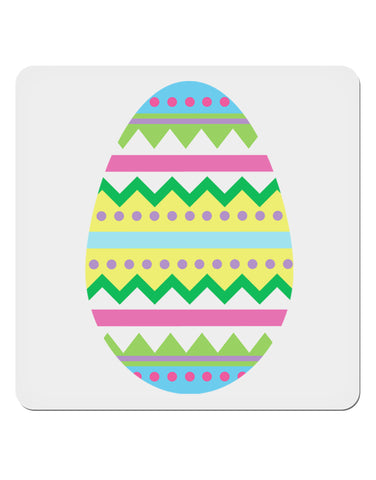 "Colorful Easter Egg 4x4"" Square Sticker"