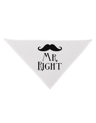 - Mr Right Dog Bandana 26