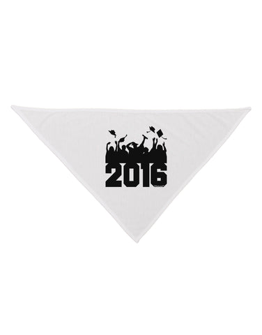 2016 Graduation BnW Dog Bandana 26