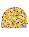 Popcorn All Over Child Fleece Beanie Cap Hat All Over Print