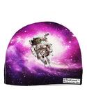 Astronaut Cat AOP Child Fleece Beanie Cap Hat All Over Print