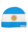 Argentina Flag AOP Child Fleece Beanie Cap Hat All Over Print