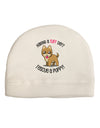 Rescue A Puppy Adult Fleece Beanie Cap Hat