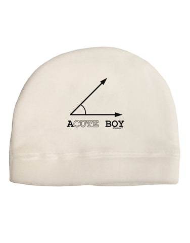 Acute Boy Adult Fleece Beanie Cap Hat