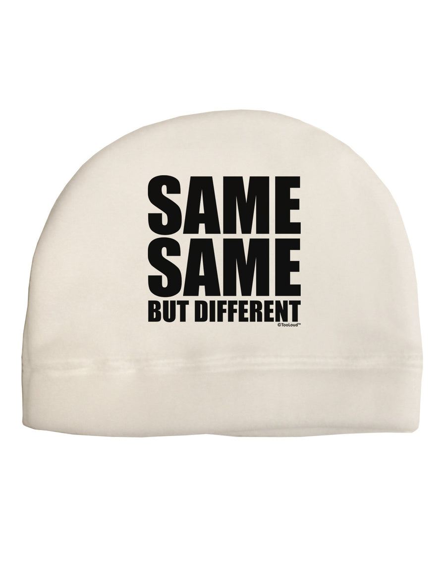 4367396acacdc Same Same But Different Adult Fleece Beanie Cap Hat