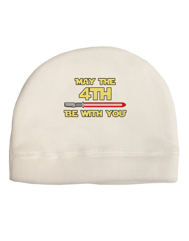 4th Be With You Beam Sword Adult Fleece Beanie Cap Hat