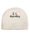 I Love Mystery Child Fleece Beanie Cap Hat