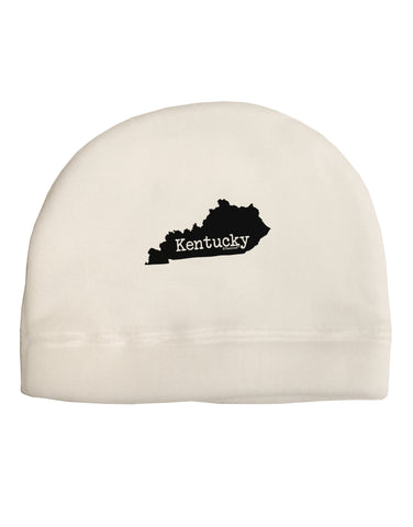Kentucky - United States Shape Child Fleece Beanie Cap Hat by TooLoud