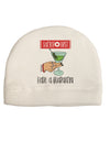Safety First Have a Quarantini Child Fleece Beanie Cap Hat Tooloud