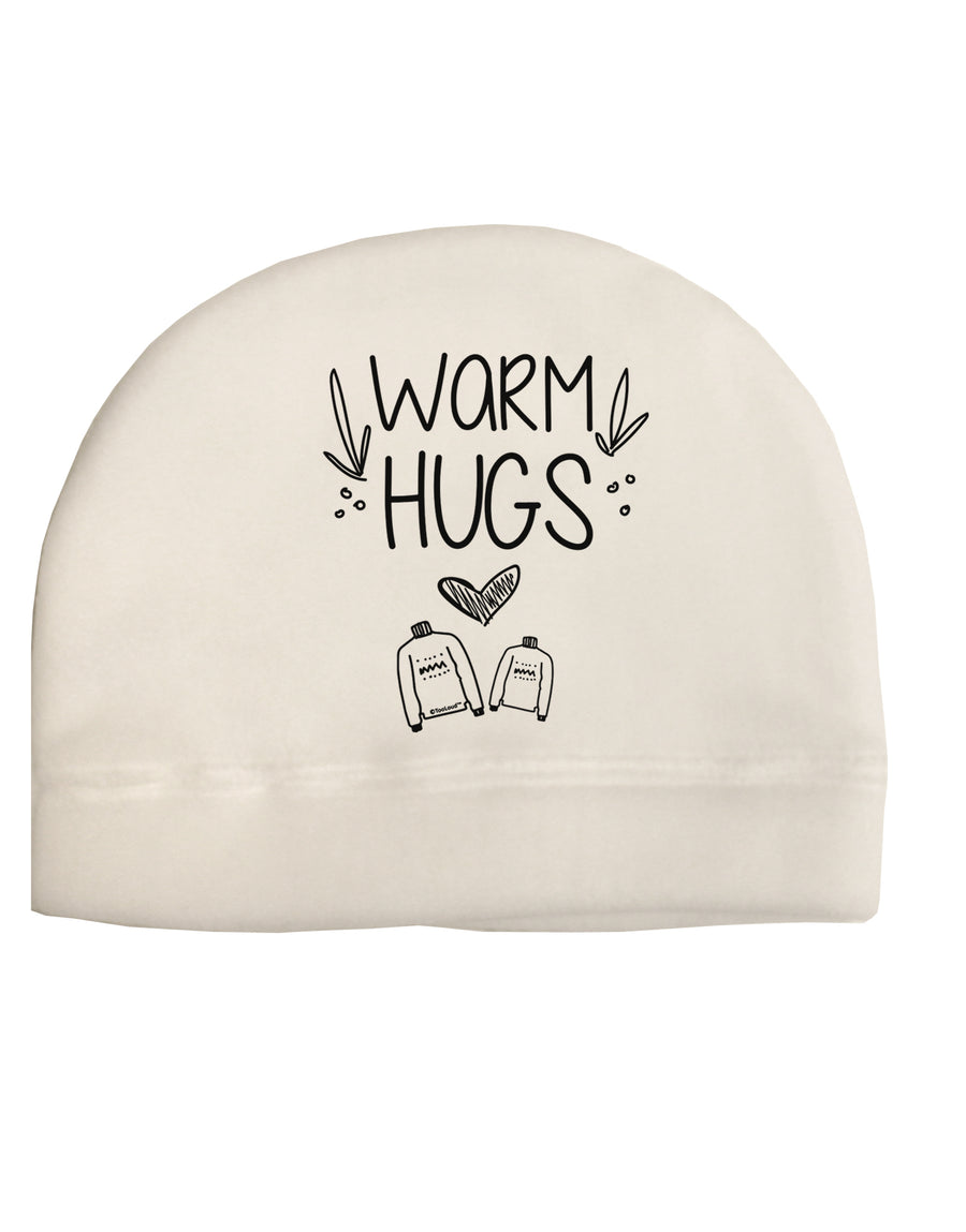 Warm Hugs Child Fleece Beanie Cap Hat Tooloud