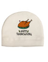 Happy Thanksgiving Child Fleece Beanie Cap Hat Tooloud
