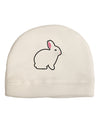 Cute Bunny Rabbit Easter Adult Fleece Beanie Cap Hat