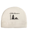 Flatten the Curve Graph Child Fleece Beanie Cap Hat Tooloud