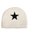 Black Star Child Fleece Beanie Cap Hat Tooloud