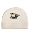 Come At Me Bro Big Horn Child Fleece Beanie Cap Hat