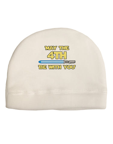 4th Be With You Beam Sword 2 Child Fleece Beanie Cap Hat