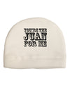 You Are the Juan For Me Child Fleece Beanie Cap Hat
