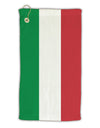Italian Flag All Over Micro Terry Gromet Golf Towel 15 x 22 Inch All Over Print