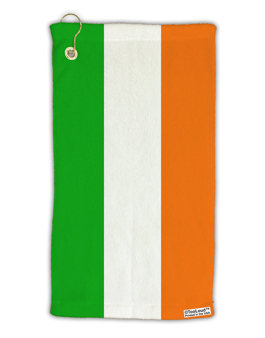 Irish Flag - Flag of Ireland Micro Terry Gromet Golf Towel 15 x 22 Inch All Over Print