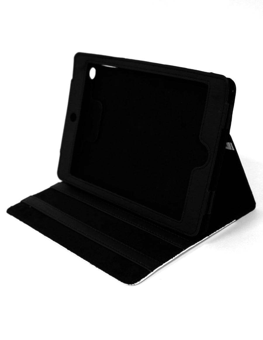 Gray Gray Go Away  Ipad Mini Fold Stand  Case - Black Tooloud