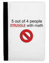 5 out of 4 People Funny Math Humor Ipad Mini Fold Stand  Case by TooLoud