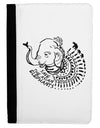 Save the Asian Elephants Ipad Mini Fold Stand  Case - Black Tooloud