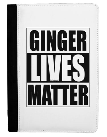 Ginger Lives Matter Ipad Mini Fold Stand  Case by TooLoud