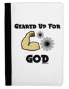 Geared Up For God Ipad Mini Fold Stand  Case by TooLoud