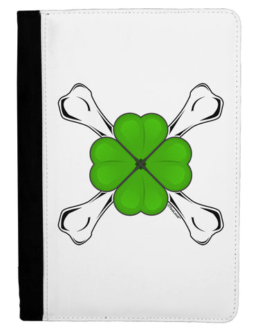 Clover and Crossbones Ipad Mini Fold Stand  Case by TooLoud