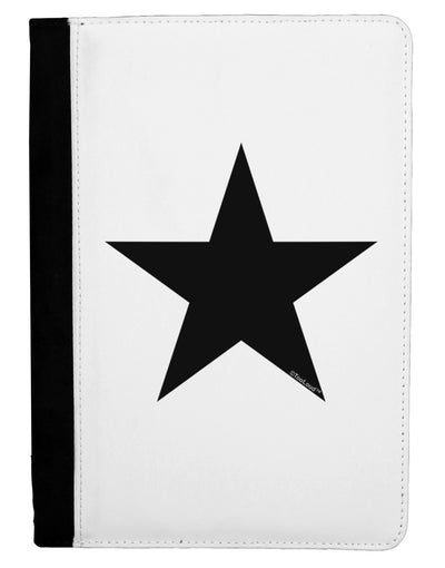 Black Star Ipad Mini Fold Stand  Case - Black Tooloud